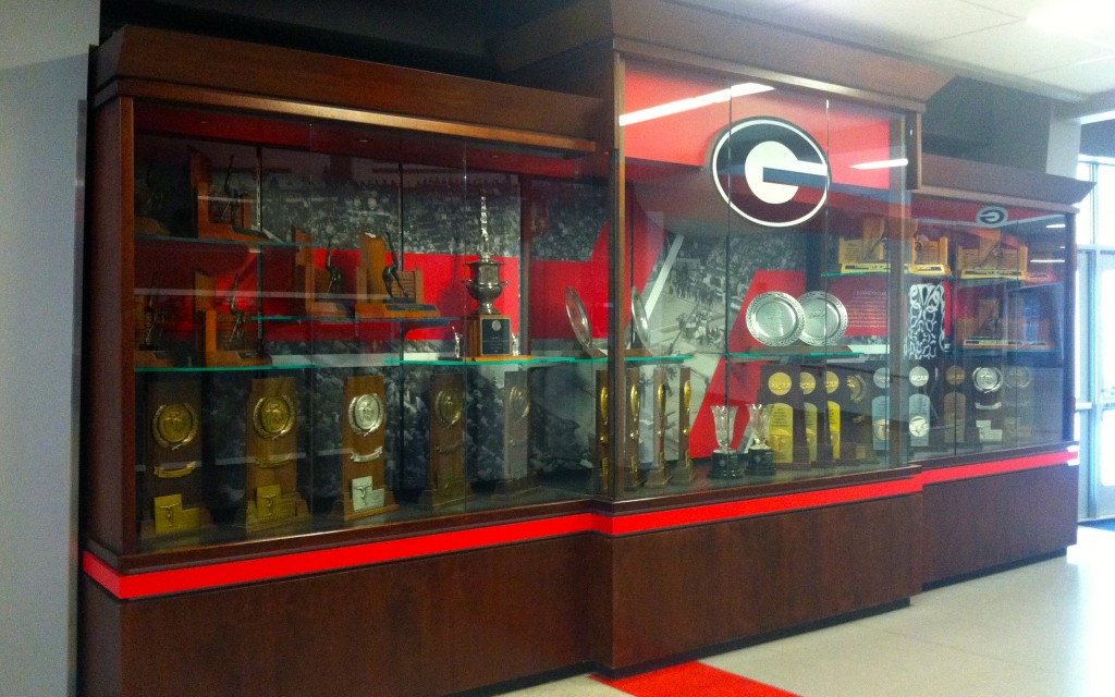 UGA Display Case